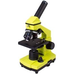 Levenhuk - Mikroskop - 2L PLUS Lime Microscope