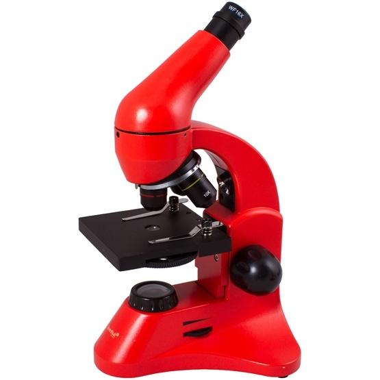 Levenhuk Mikroskop 50L PLUS (Orange)