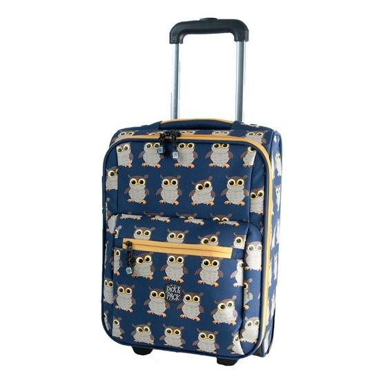 Pick&PACK - Väska - Trolley - Uggla - Blå