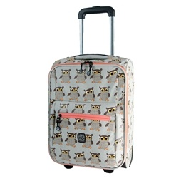 Pick&PACK - Väska - Trolley - Uggla - Beige