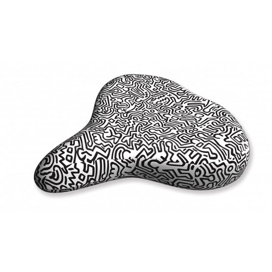 Liix - Sadelskydd - Saddle Cover Keith Haring People