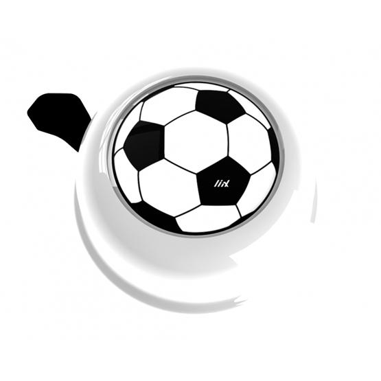 Liix - Ringklocka - Colour Bell Soccerball White