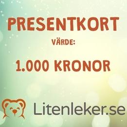Litenleker - Presentkort 1 000 kr