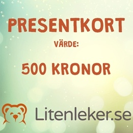 Litenleker - Presentkort 500 kr