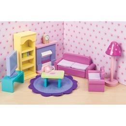 Le Toy Van - Dockhusmöbler - Vardagsrum Sugar Plum