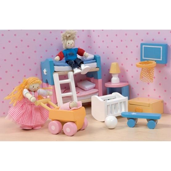 Le Toy Van - Dockhusmöbler - Barnrum Sugar Plum