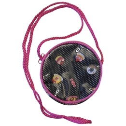 Lollipop - Rund Väska - Svart