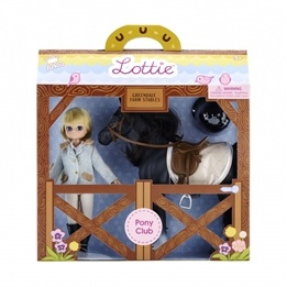 Lottie - Docka - Pony Club
