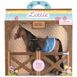 Lottie - Docka - Sirius The Pony
