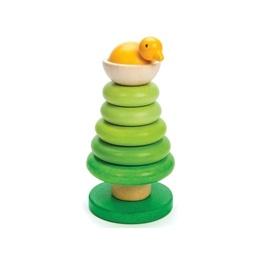 Le Toy Van - Stapelträd Med Fågel