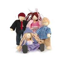 Le Toy Van - Budkins Familj Dockfamilj