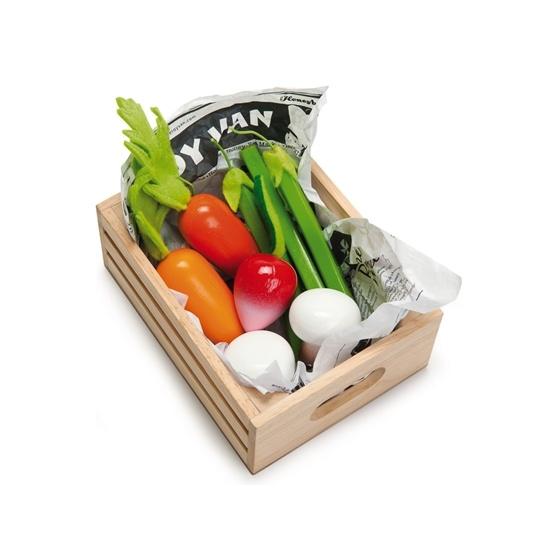 Le Toy Van - Grönsaker I Trälåda