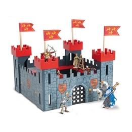 Le Toy Van - Riddarborg Min Första (Röd)