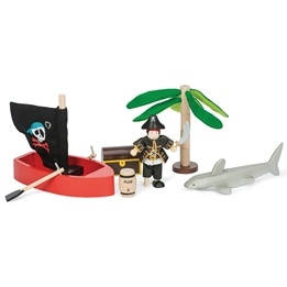 Le Toy Van - Budkins Set  Piratäventyr