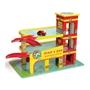 Le Toy Van - Garage Dinos Röda