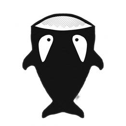 Baby Bites - Sovsäck Haj - Pingviner - Svart