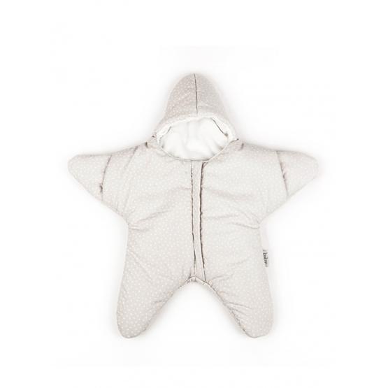 Baby Bites - Sovsäck Stjärna 0-3 mån - Beige