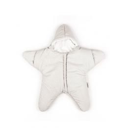 Baby Bites - Sovsäck Stjärna 3-6 mån - Beige