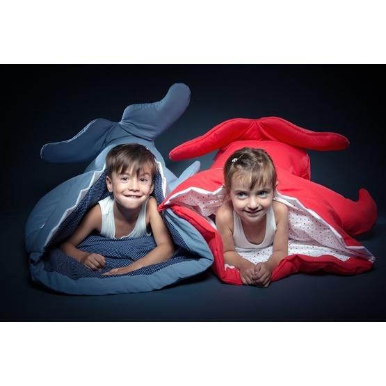 Baby Bites - Sovsäck Haj - Cyklar - Mörkblå - Litenleker.se 90b4f322968e8