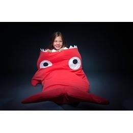 Baby Bites - Sovsäck Haj - Tabletter - Röd