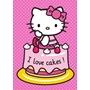 """Disney - Hello Kitty """"I Love Cakes"""" Barnmatta"""