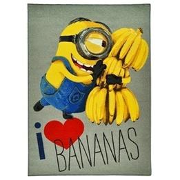 """Disney - Minions """"I Love Bananas"""" Barnmatta"""