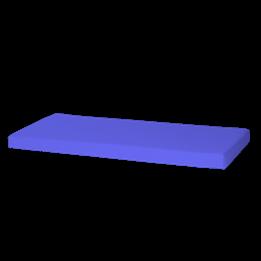 Huxie - Madrass Blå - 70x160 Cm