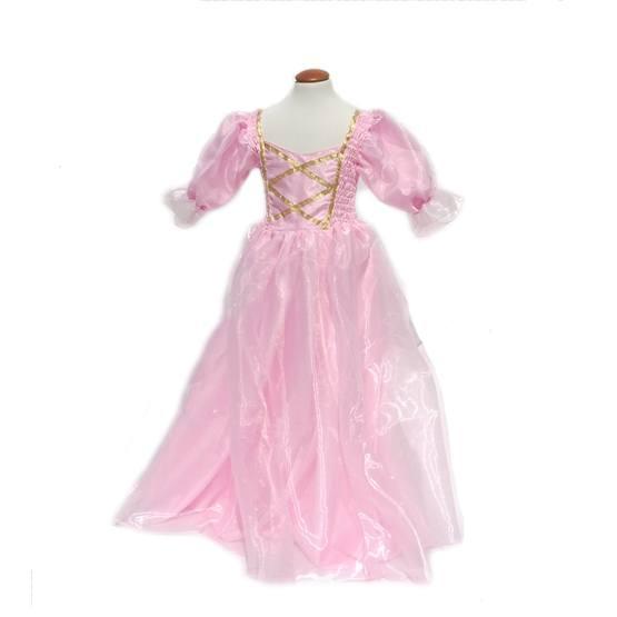 Minisa - Klänning - Prinsessa - Rosa/Guld