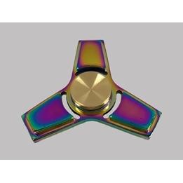 Fidget Spinners - Trispinner Rainbow Guld