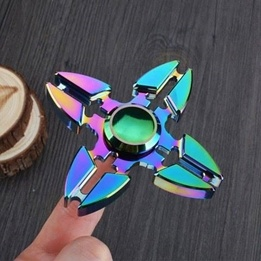 Fidget Spinners - Star Rainbow