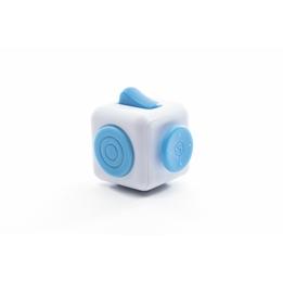 Fidget Spinners - Cuben Blå / Vit