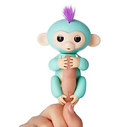 Fingerlings - Fingerapa Zoe - Grön