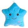 Lysande Stjärnkudde (Blå)