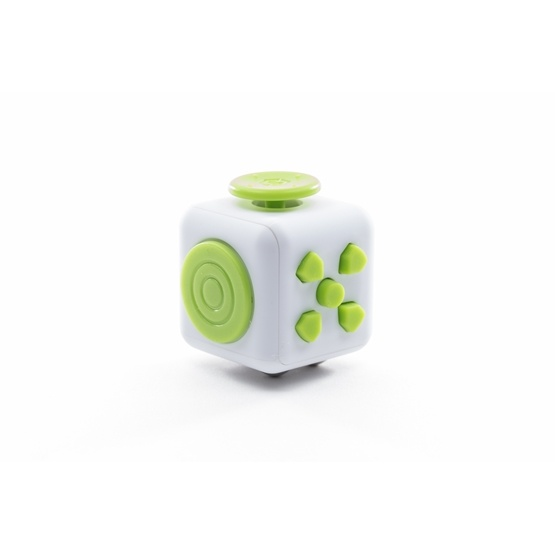 Fidget Spinners - Cuben Grön / Vit