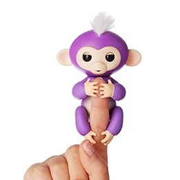 Fingerling / Baby Monkey - Fingerapa - Lila