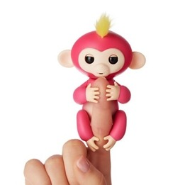 Fingerling / Baby Monkey - Fingerapa - Rosa
