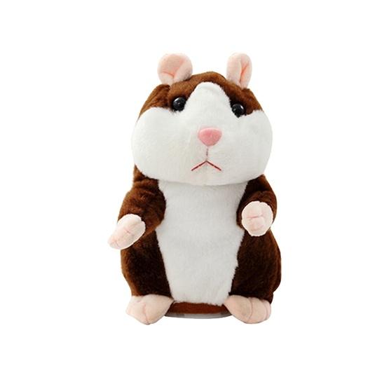 Talande Hamster - Mörkbrun
