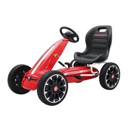 Trampbil - Gokart - Licensed Abarth - Röd