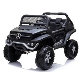 Elbil - Mercedes Unimog - Svart