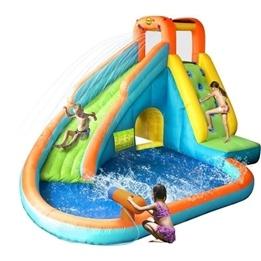 HappyHop - Vattenrutschkana med vattenkanon