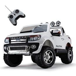 Azeno - Elbil - Ford Ranger Fyrhjulsdrift - Vit