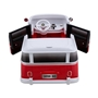 Azeno - Elbil - Licensed VW BUS - Röd