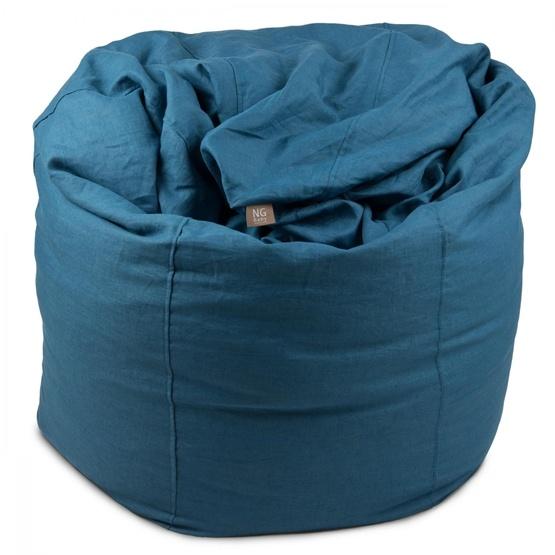 NG Baby - Sittsäck Mood - Blue (142 l styrolitkulor)