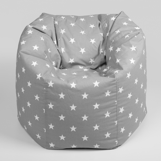 NG Baby - Sittsäck - Grå Stjärna - New England