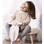 Kids Concept - Gungvespa Rosa/Vit