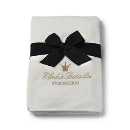 Elodie Details - Pärlsammetsfilt - Vanilla White