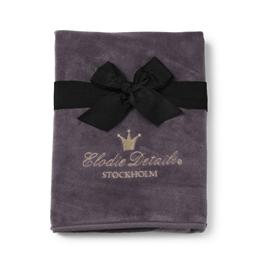 Elodie Details - Pärlsammetsfilt - Plum Love