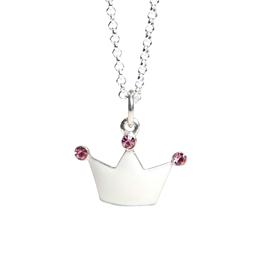Kalas - Halsband Silver Prinsesskrona