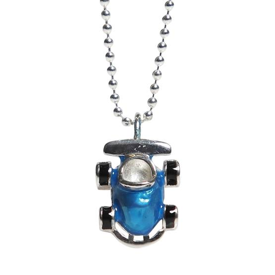 Kalas - Halsband Blå Racerbil
