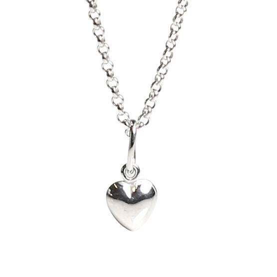 Kalas - Halsband Silverhjärta